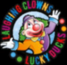 Clowning Around Logo_laughing clowns-luc