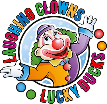 Clowning Around Logo_laughing clowns-luc