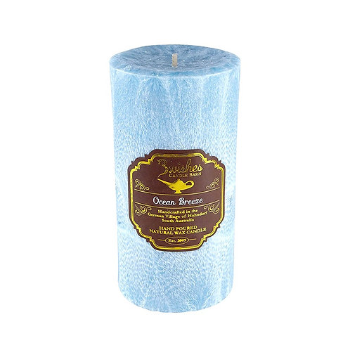 Ocean Breeze - Large 100 hour Vegetable Wax Candle