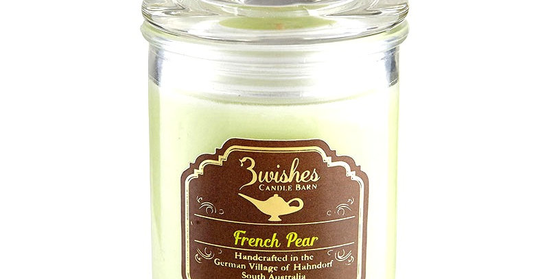 French Pear - Small 20 hour Soy wax candle