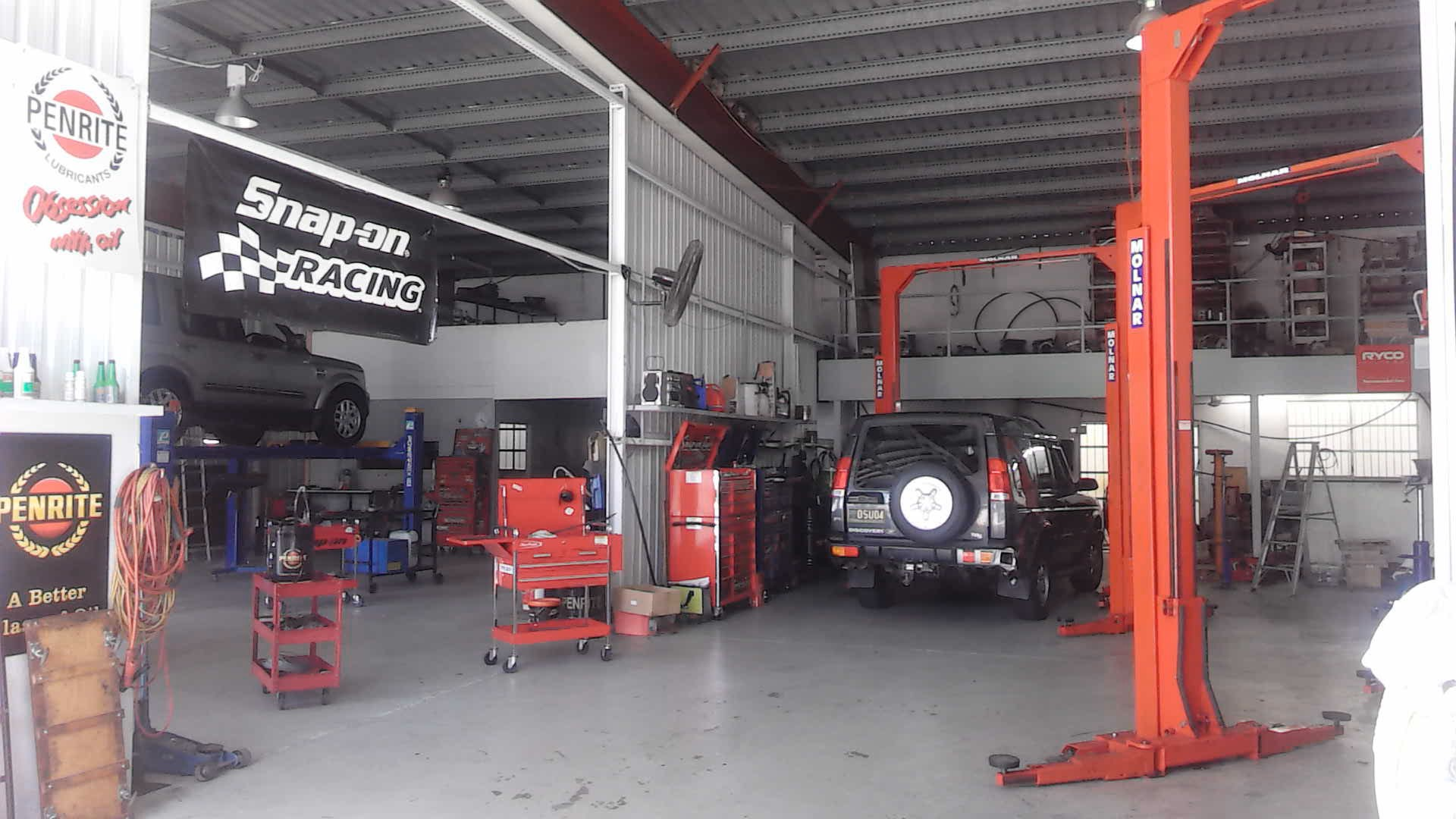 Our workshop.