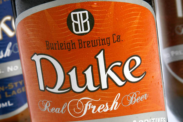 Burleigh Brewing Duke Label