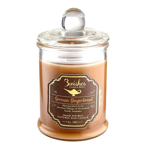German Gingerbread - Small 20 hour Soy wax candle