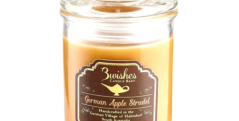 German Apple Strudel - Small 20 hour Soy wax candle