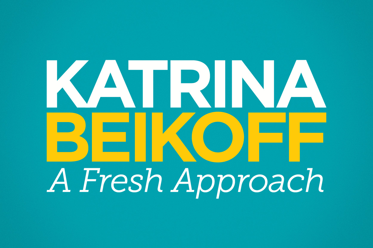 Katrina Beikoff Campaign Logo