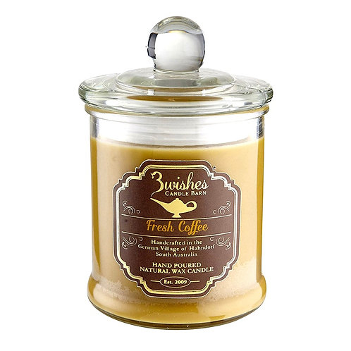 Fresh Coffee- Large 80 hour Soy wax candle