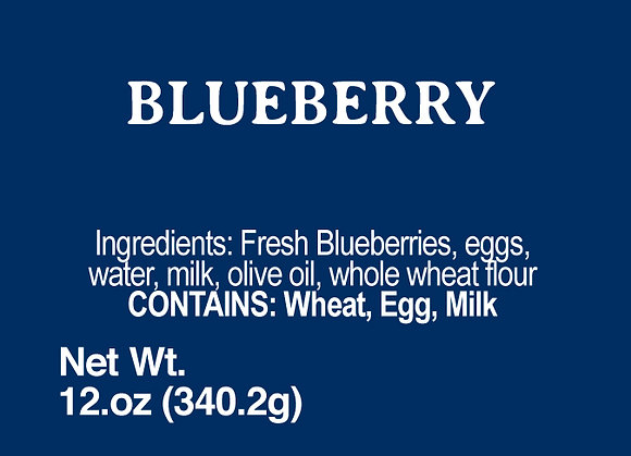 Blueberry - 12oz