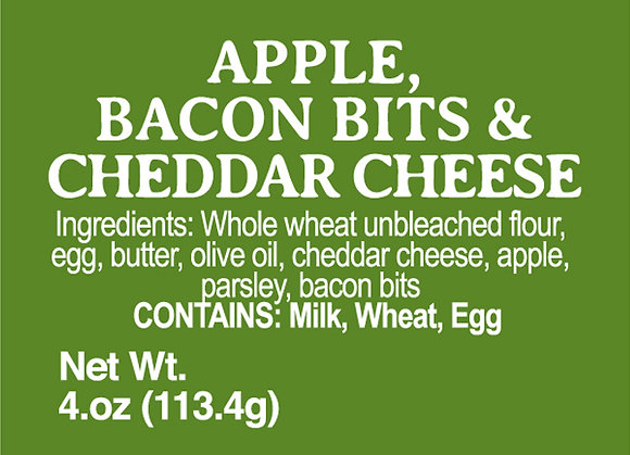 Apple, Bacon and Cheddar Cheese - 4oz