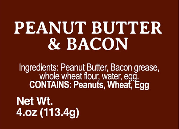 Peanut Butter and Bacon - 4oz