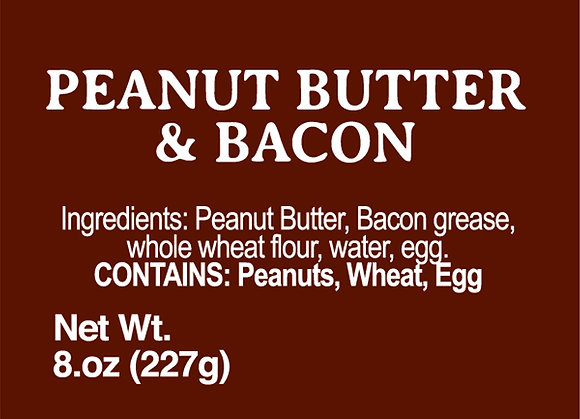 Peanut Butter and Bacon - 8oz