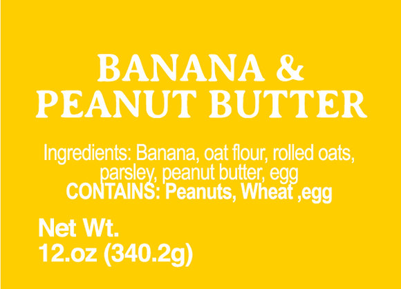 Banana and Peanut Butter - 12oz