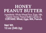 Honey Peanut Butter - 12oz