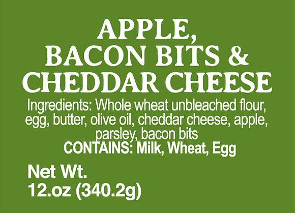 Apple, Bacon and Cheddar Cheese - 12oz