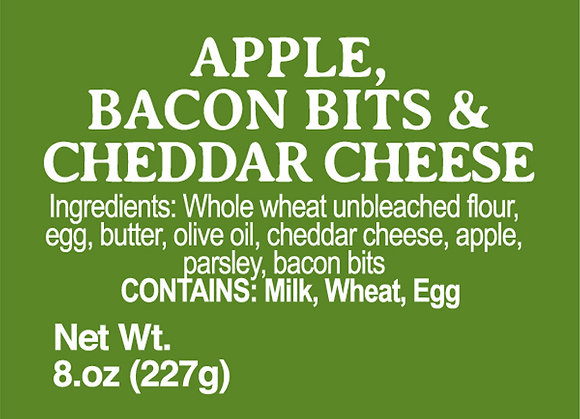 Apple, Bacon and Cheddar Cheese - 8oz