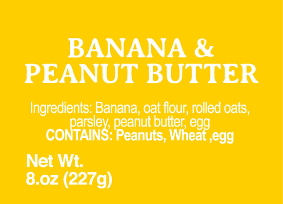 Banana and Peanut Butter - 8oz