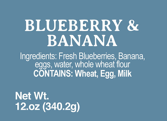 Blueberry & Banana - 12oz