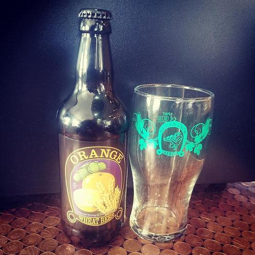 4 bottle Orange Wheat Beer 4.2& 500ml