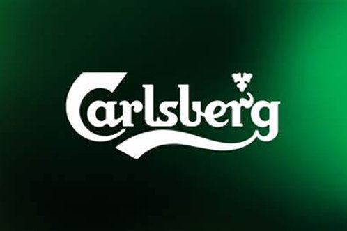 Four pints  of Carlsberg