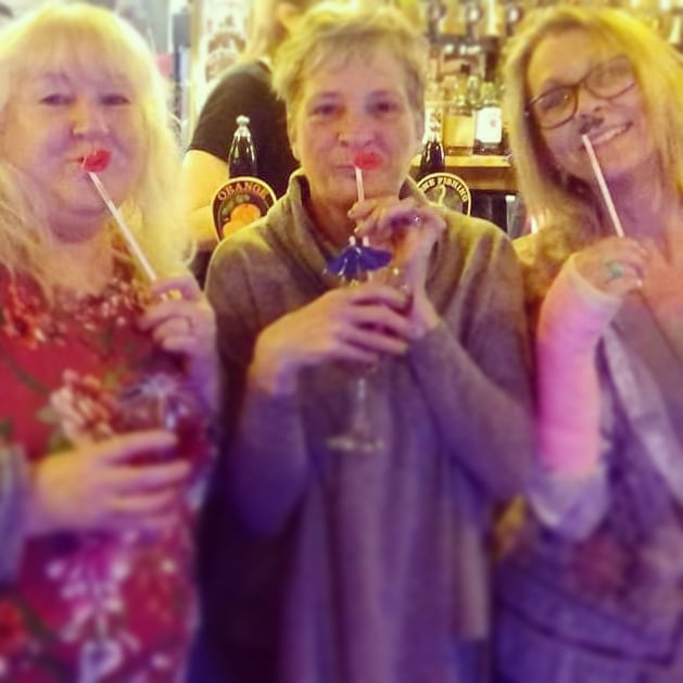 Three amigos- birthday celebrations! #bi