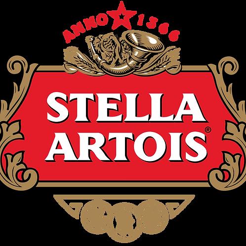 4 pints stella artois