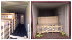TRANSPORTING IN A CONTAINER