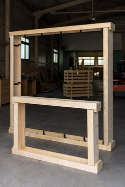 WOODEN BOX FOR GLASS