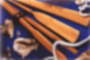 ξύλινα κουπιά καγιάκ οξυά ιρόκο