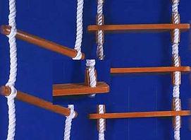 ladder steps wooden