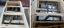 BOX FOR TRANSPORTING PARTS