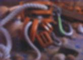 μακαράδες οξυά σχοινί