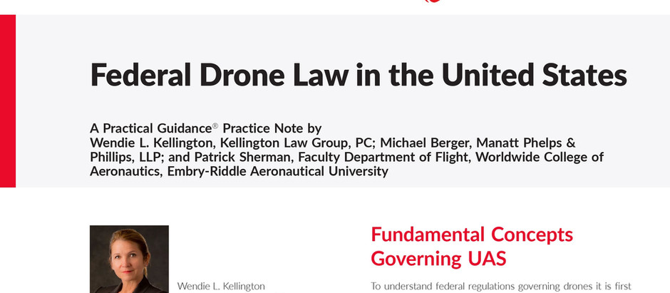 """""""Practical Guidance"""" on Federal Drone Law"""