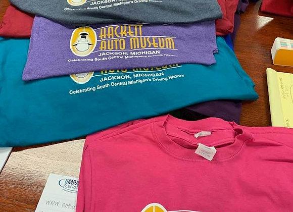 Hackett Auto Museum T-shirt