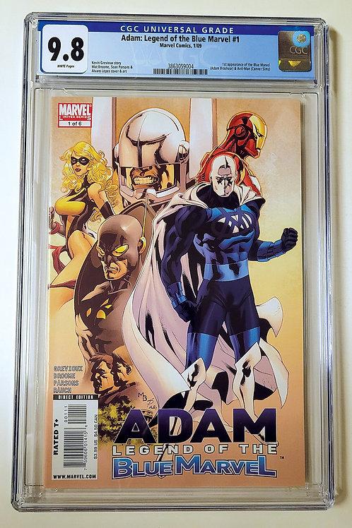 Adam: The Legend of the Blue Marvel #1 CGC 9.8