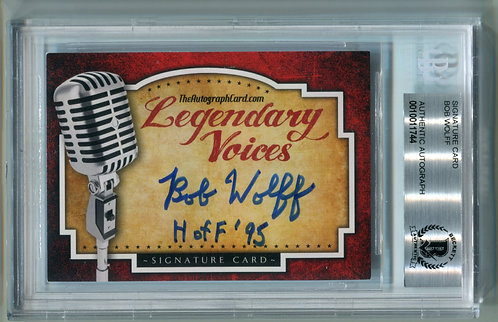 Legendary Voices Card - Bob Wolff