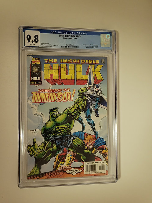 Incredible Hulk 449 CGC 9.8