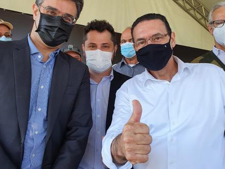 Estrada do Ipatinga será asfaltada em programa do Governo de SP