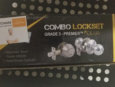 lock change had never been easier before