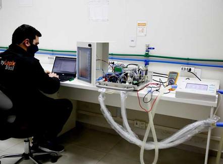 SENAI ajuda a nacionalizar produção de ventiladores pulmonares