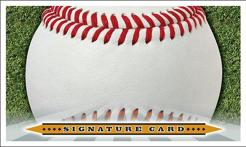 Baseball 3x5-20 Cards