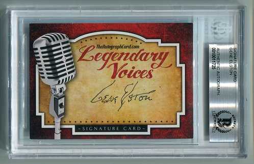 Legendary Voices Card - Gene Elston