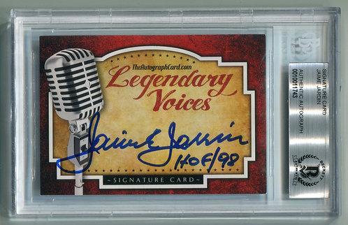 Legendary Voices Card - Jaime Jarrin