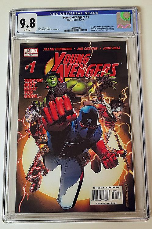 Young Avengers 1 CGC 9.8