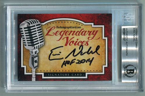 Legendary Voices Card - Eric Nadel