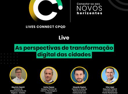 Live: Cidades inteligentes 01/07/20 17h