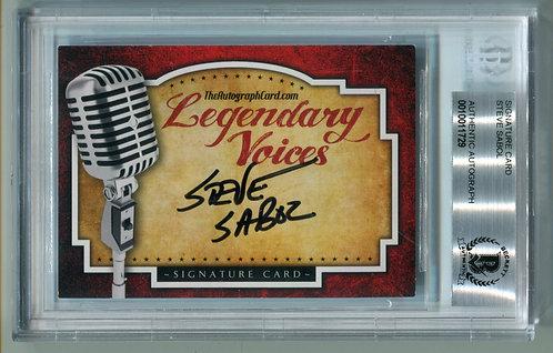 Legendary Voices Card - Steve Sabol