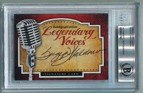 Legendary Voices Card - Suzyn Waldman