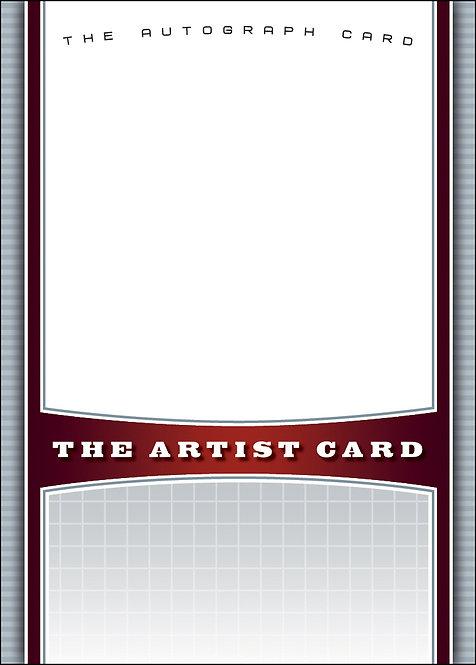 The Artist Card