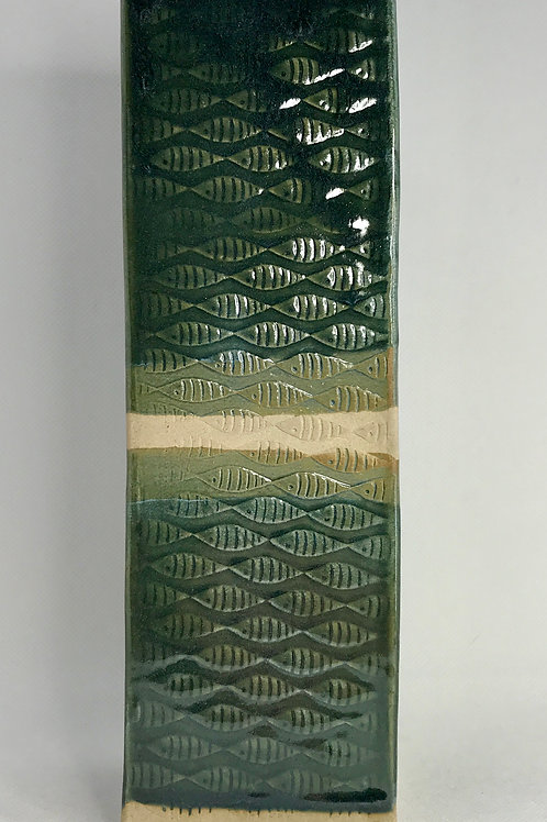 Square-based vase
