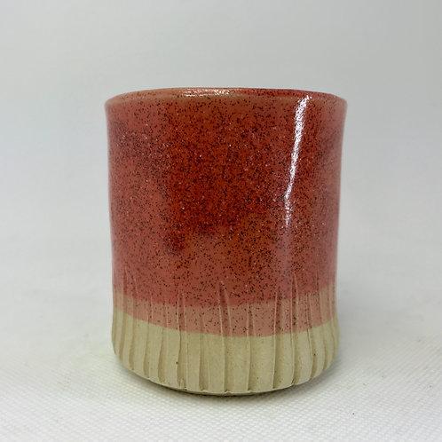 Small Beaker Burnt Orange