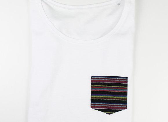 Shirt Lowcut NEGRO & COLOR